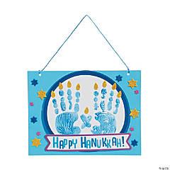 Hanukkah Handprint Sign Craft Kit