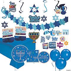 Hanukkah Party Supplies & Decorating Kit