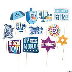 Hanukkah Photo Stick Props