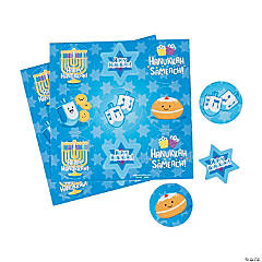 Hanukkah Treat Bag Stickers