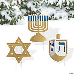 Hanukkah Yard Signs