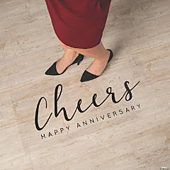 Happy Anniversary Floor Cling