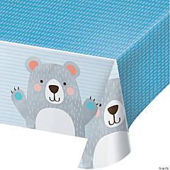 Happy Bear Plastic Tablecloth