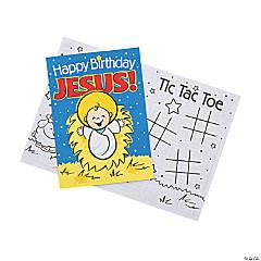 Happy Birthday Jesus Activity Books - 12 Ct.