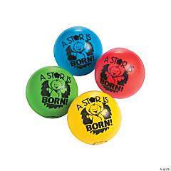 Happy Birthday Jesus Bouncing Balls