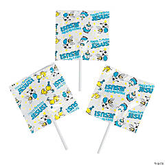 Happy Birthday Jesus Lollipops
