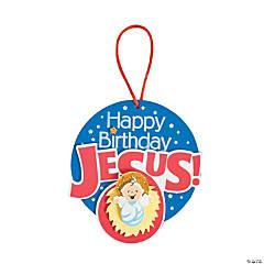 Happy Birthday Jesus Manger Ornament Craft Kit