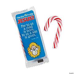 Happy Birthday Jesus Mini Candy Canes