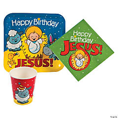 Happy Birthday Jesus Tableware