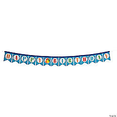 Happy Birthday Pool Party Banner