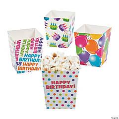 Happy Birthday Popcorn Boxes