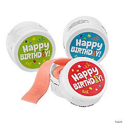 Happy Birthday Tape Roll Gum Kit