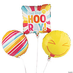 Happy Day Mylar Balloons