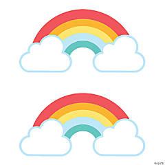 Happy Day Rainbow Bulletin Board Cutouts