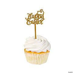 Happy Easter Cupcake Picks