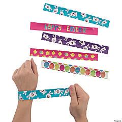 Happy Easter Slap Bracelet Assortment