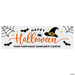 Happy Halloween Decoration Custom Banner - Medium