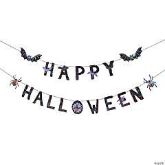 Happy Halloween Funky Garland