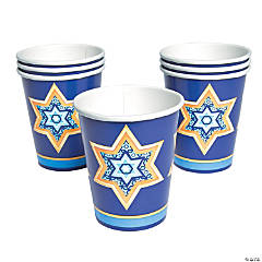 Happy Hanukkah Cups