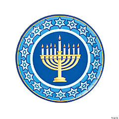 Happy Hanukkah Dinner Plates