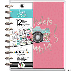 Happy Memory Keeping Undated 12-Month Big Planner -Painted Memories
