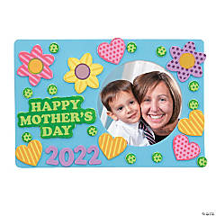 Happy Mother's Day Picture Frame Magnet Craft Kit