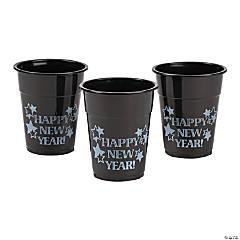 Happy New Year Plastic Cups