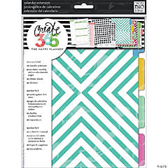 Happy Planner 6-Month Undated Medium Planner Extension Pack-Teal Month