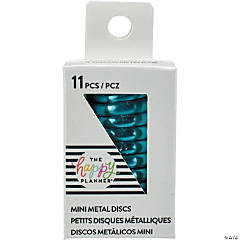 Happy Planner Mini Metal Expander Discs 11/Pkg-Teal
