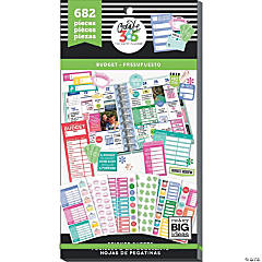 Happy Planner Sticker Value Pack-Budget Fill-In, 682/Pkg