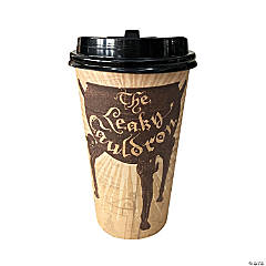 Harry Potter™ Leaky Cauldron Disposable Coffee Cups with Lids