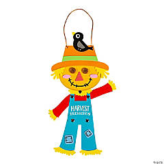 Harvest Blessings Scarecrow Craft Kit