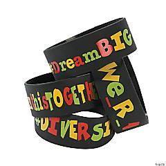 Hashtag Diversity Big Band Bracelet