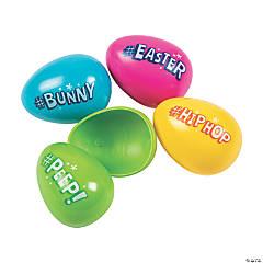 Hashtag Plastic Easter Eggs