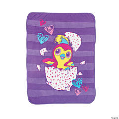 Hatchimals™ Plush Throw Blanket