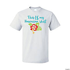 Hawaiian Adult's T-Shirt - Large