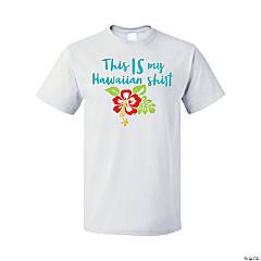 Hawaiian Adult's T-Shirt - Small
