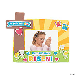He Died For Me Picture Frame Magnet Craft Kit