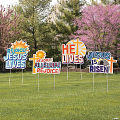 He is Risen Yard Signs