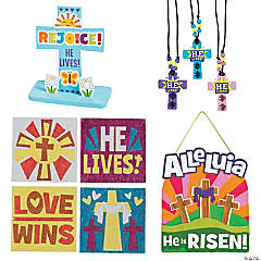 He Lives! Easter Craft Assortment for 12