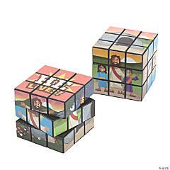 He Lives Puzzle Cubes