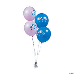 "He or She 11"" Latex Balloons"