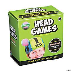 Head Games Toss & Catch Game Set
