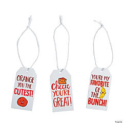 Healthy Valentine's Day Gift Tags