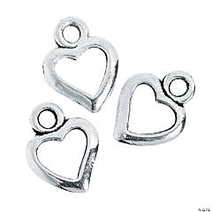 Heart Cutout Charms