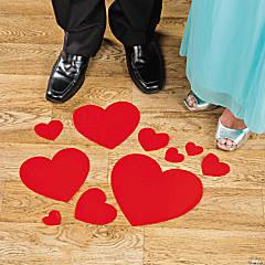 Heart Floor Cling