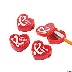 Heart Health Pencil Sharpeners