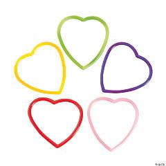 Heart-Shaped Jelly Bracelets