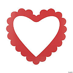 Heart-Shaped Photo Booth Frame