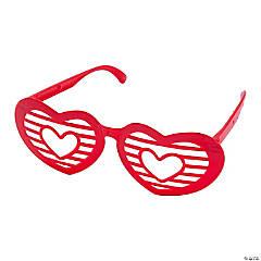 Heart-Shaped Shutter Glasses